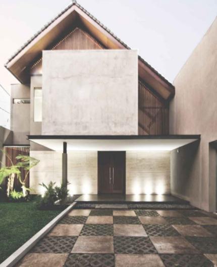 halaman rumah